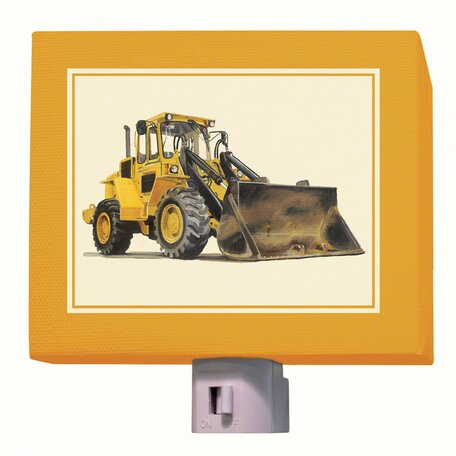 Bulldozer Night Light by Oopsy Daisy