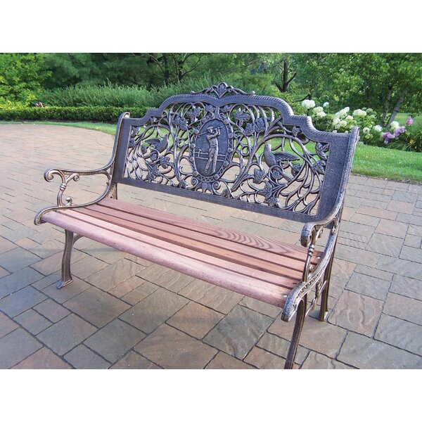 Golfer Aluminum Garden Bench by Oakland Living