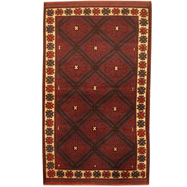 Prentice Hand-Knotted Blue/Ivory Area Rug by Isabelline