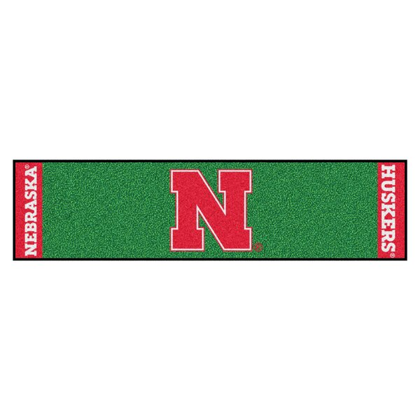 NCAA University of Nebraska Putting Green Doormat by FANMATS