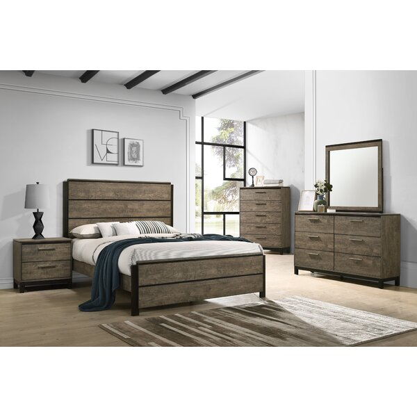 Uptown Standard Configurable Bedroom Set by Gracie Oaks