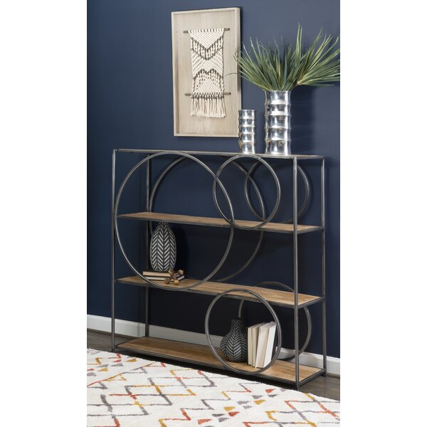 Wooster Geometric Bookcase By 17 Stories
