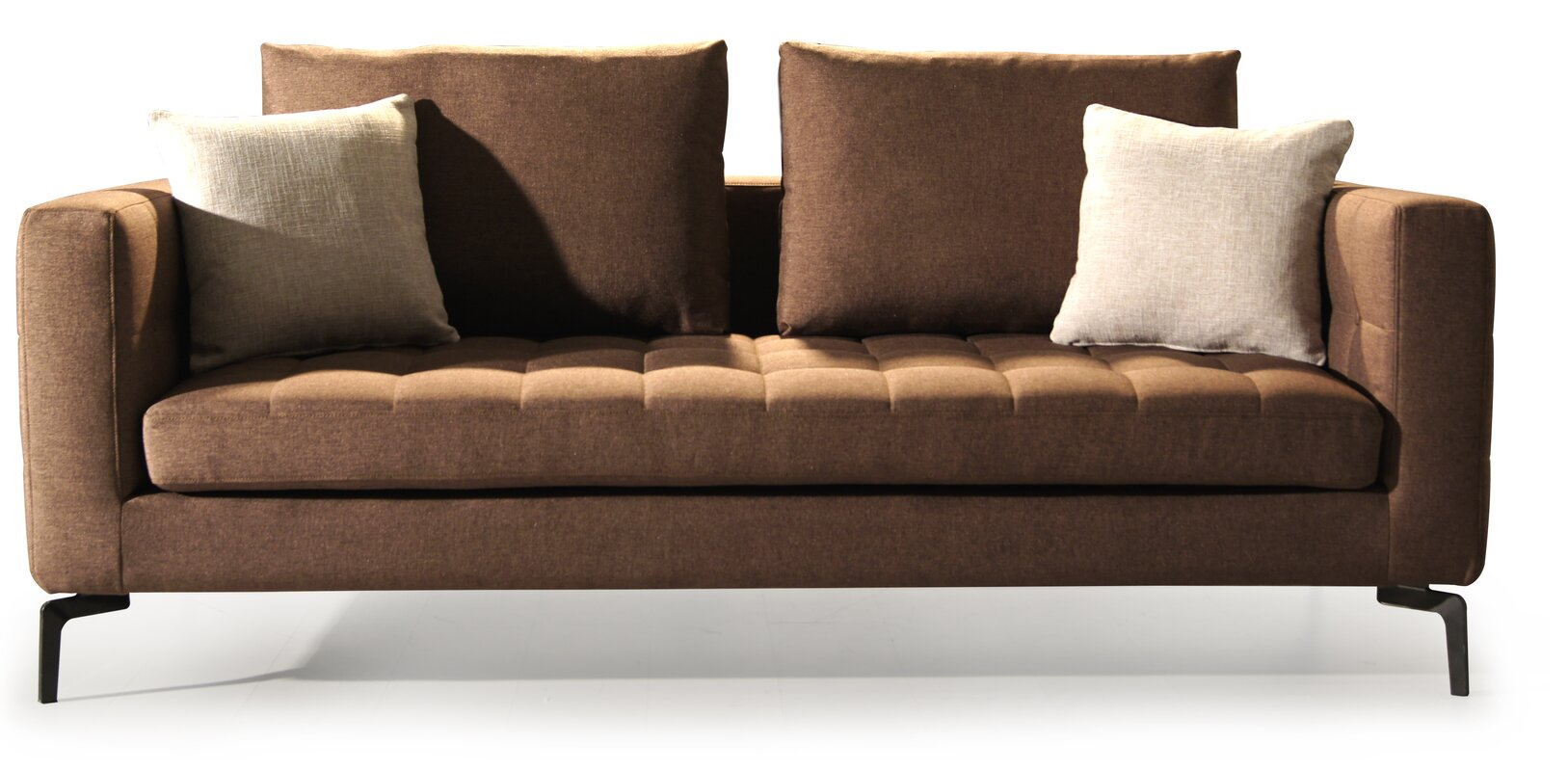 Square Couch Gorgeous Modern Design International Square Chesterfield Sofa  Wayfair Decorating Inspiration