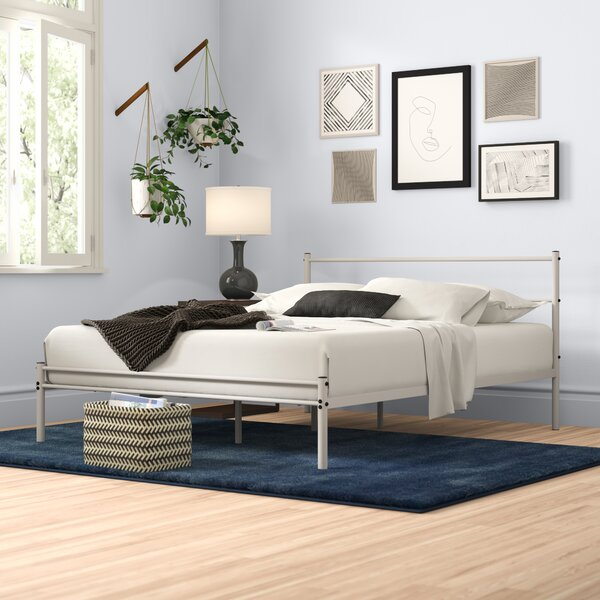 Reviews Otelia Metal Platform Bed By Zipcode Design 2019 Coupon