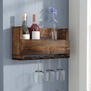 Looking for Kindred 4 Bottle Wall Mounted Wine Rack by Laurel Foundry Modern Farmhouse