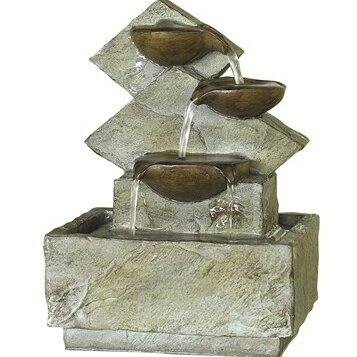 Resin Lodore Floor Fountain by KelKay