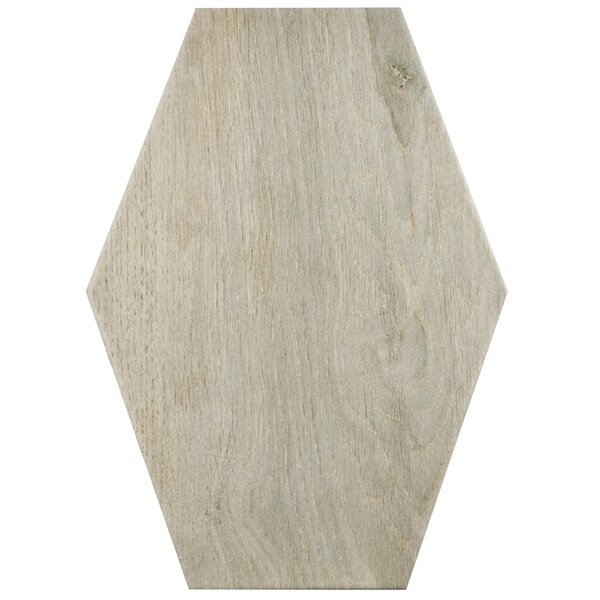 Egurra 8.38 x 11.75 Porcelain Wood Look Tile in Beige by EliteTile
