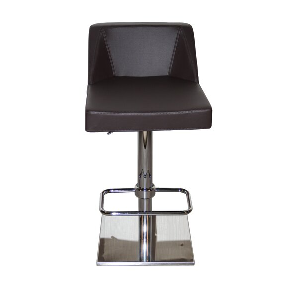 Oss Adjustable Height Swivel Bar Stool by La Viola Décor