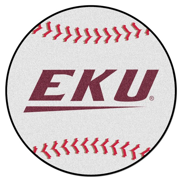NCAA Eastern Kentucky University Baseball Mat by FANMATS