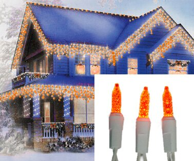70 Light LED Wide Angle Icicle Christmas Light String by Sienna Lighting