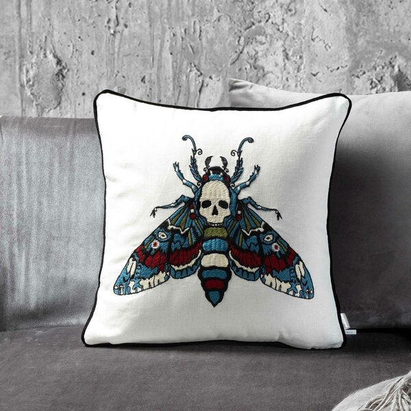 Butterfly Effect Throw Pillow by The Holiday Aisle