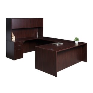 Lissa 5 Piece U-Shape Desk Office Suite By Red Barrel Studio