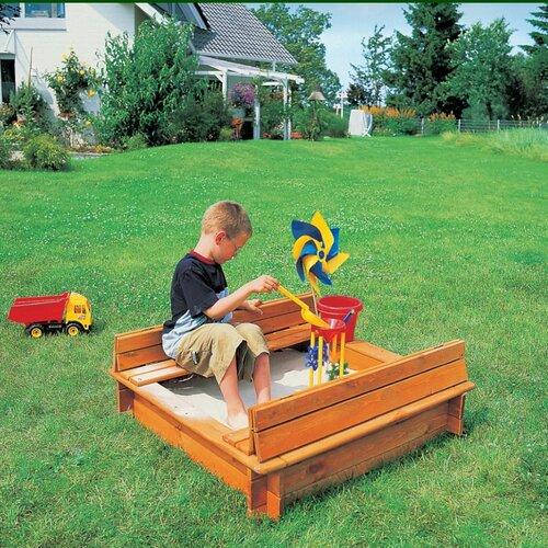Quadratisch Sandkasten Pescara Freeport Park | Kinderzimmer > Spielzeuge > Sandkästen | Freeport Park