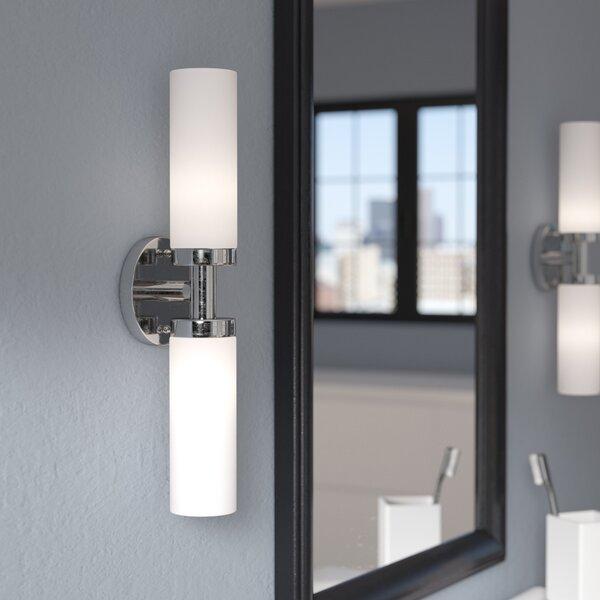 Kneeland 2-Light Bath Bar by Zipcode Design