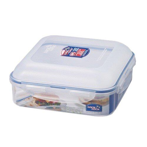 Square Hamburger Case 57 Oz. Food Storage Container by Lock & Lock