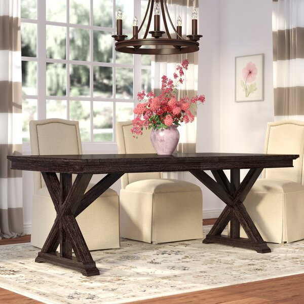 Offerman Extendable Solid Wood Dining Table by Laurel Foundry Modern Farmhouse Laurel Foundry Modern Farmhouse