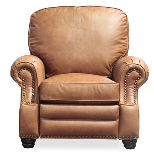Longhorn Ii Leather Recliner  by Barcalounger
