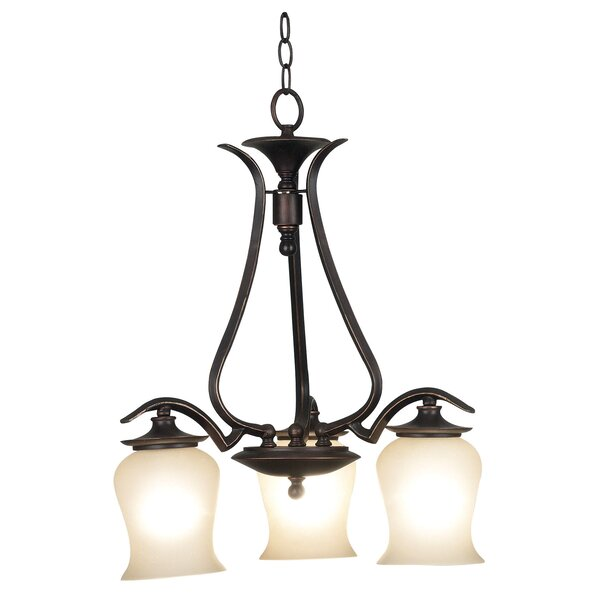 Bienville 3-Light Shaded Chandelier by Wildon Home ®