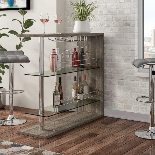 Wadebridge Bar with Wine Storage by Wrought Studio