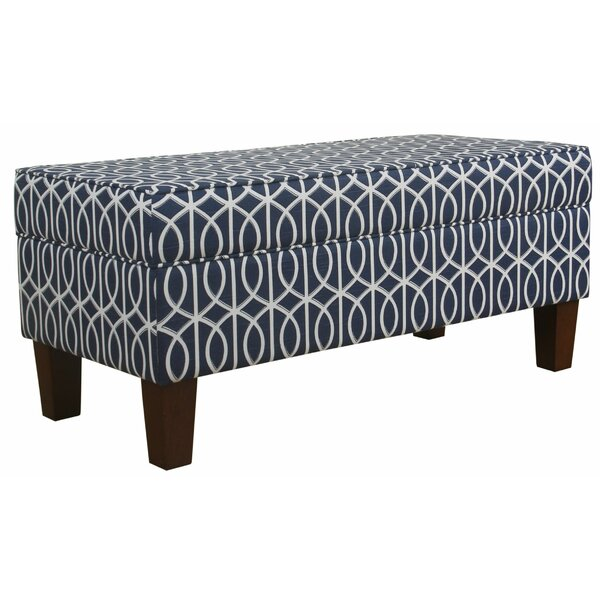 Lechlade Upholstered Storage Bench by Alcott Hill