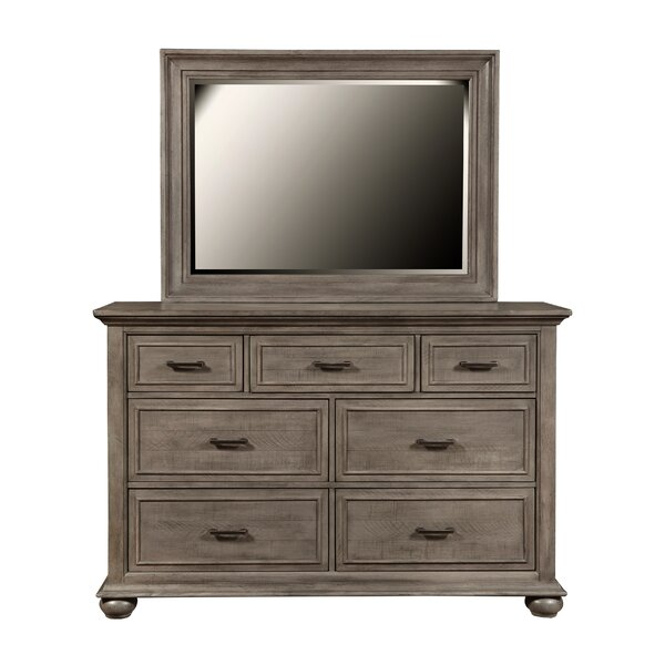 Lemaire Park 7 Drawer Double Dresser With Mirror By Canora Grey