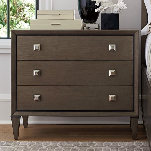 Ariana Paloma 3 Drawer Nightstand by Lexington