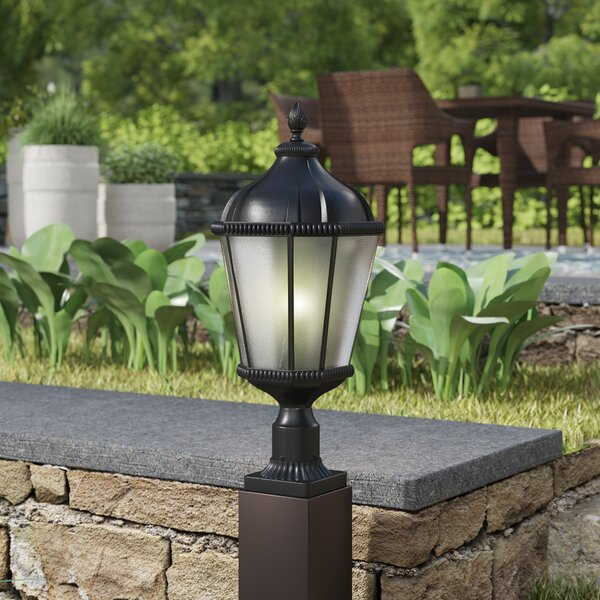 Bridgewater Aluminum Outdoor 1-Light Pier Mount Light by Andover Mills