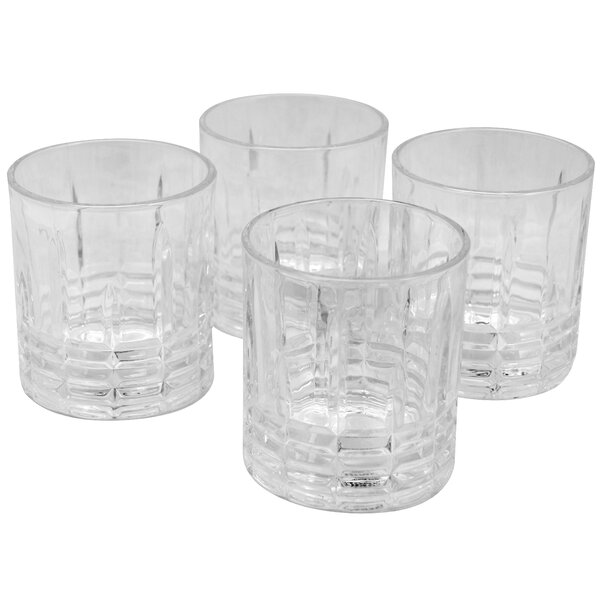 Pablo 11 oz. Glass Cocktail Glass (Set of 4) by Charlton Home