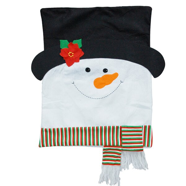 Snowman Chair Back Covers by The Holiday Aisle