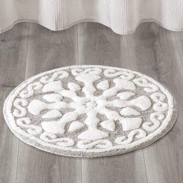 Cisco Medallion Geometric Cotton Tufted Bath Rug Ophelia