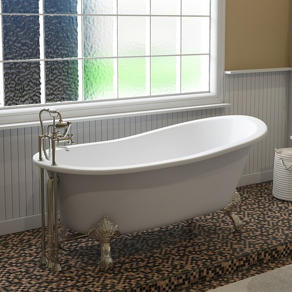 67 x 31 Clawfoot Soaking Bathtub by Cambridge Plumbing