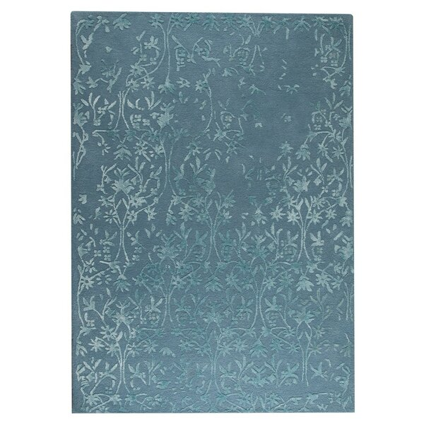 Santoor Hand-Tufted Turquoise Area Rug by Hokku Designs