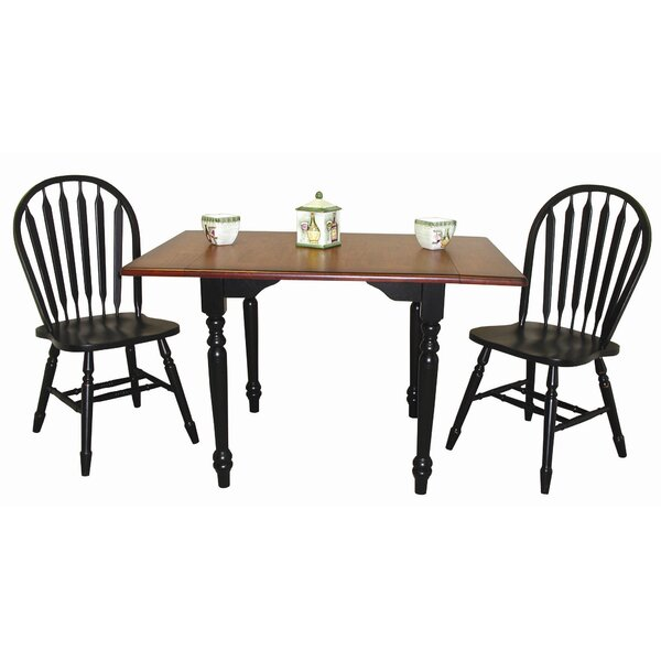 Amazing Irie 3 Piece Drop Leaf Dining Set By Loon Peak Today Only Sale