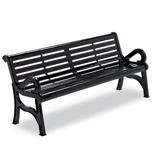 Horizon Cast Iron Park Bench by Anova