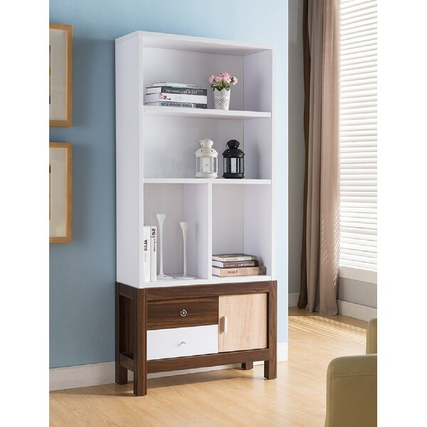 Layla-Mae Creative Office Home Utility Standard Bookcase By Ebern Designs