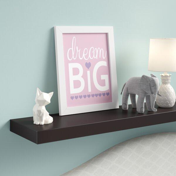 Dream Big Framed Print by Birch Lane Kids™