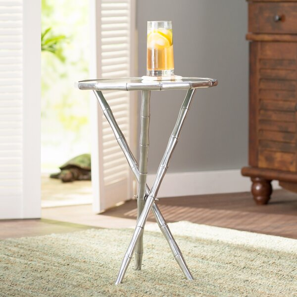 Lynsey End Table by Beachcrest Home