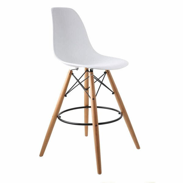 Troy Woodleg 30 Bar Stool by George Oliver