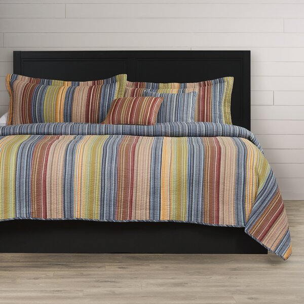 Correen Cotton Reversible Quilt Set by August Grove