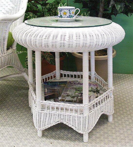 Gazebo End Table by Wicker Warehouse