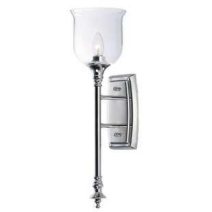 Inexpensive Minnich 1-Light Candle Wall Light By House of Hampton