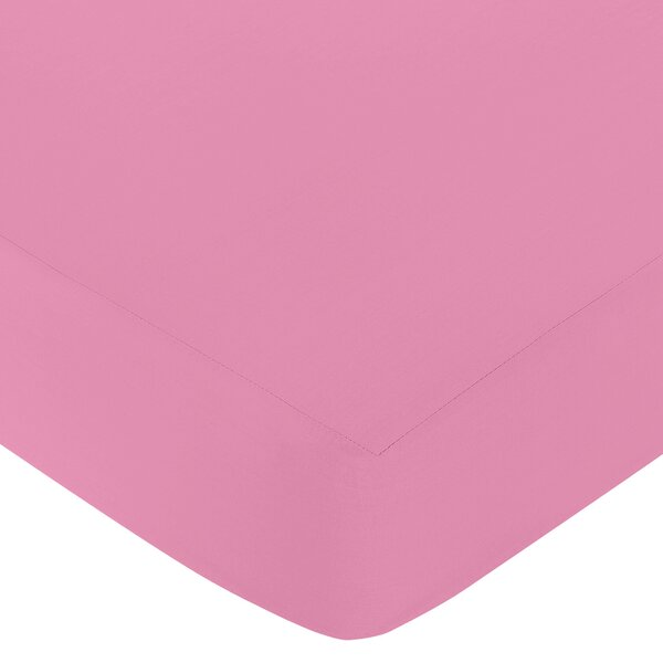 Paris Solid Fitted Crib Sheet by Sweet Jojo Designs