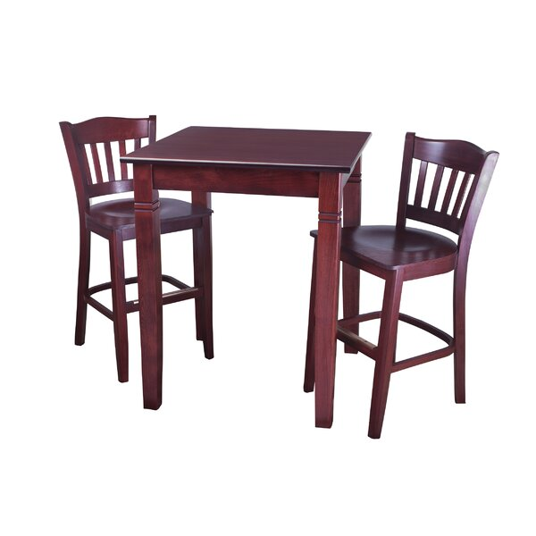 Eaker 3 Piece Pub Table Set by Darby Home Co Darby Home Co