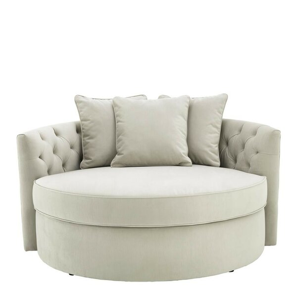 Best Selling Carlita Round Loveseat Snag This Hot Sale! 30% Off