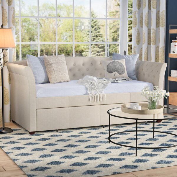 Milligan Twin Daybed with Trundle by Three Posts