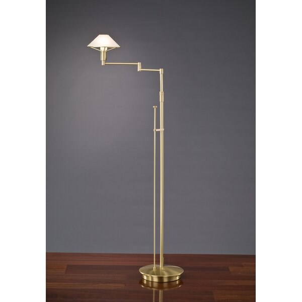 60 Swing Arm Floor Lamp by Holtkötter