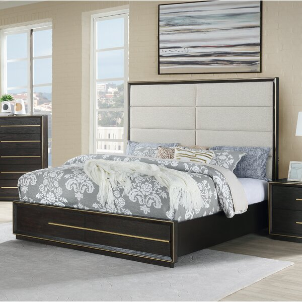 Blairstown Upholstered Standard Bed by Everly Quinn Everly Quinn