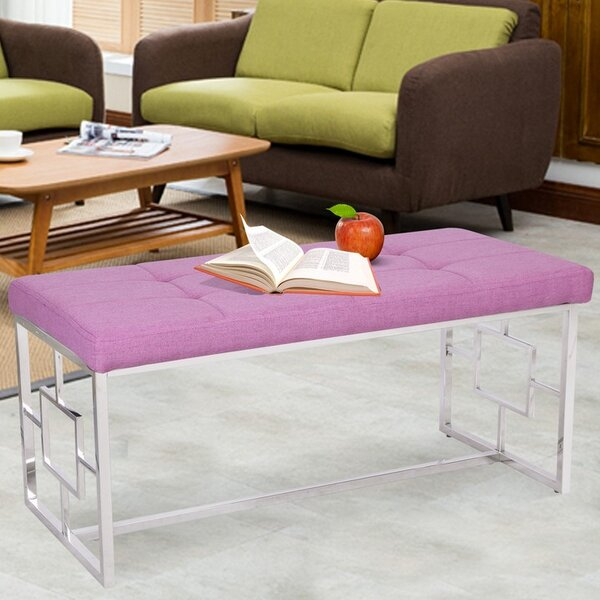 Gallant Upholstered Bench by Rosdorf Park