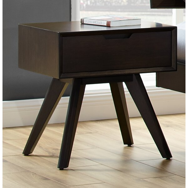 Natividad 1 Drawer Nightstand by George Oliver