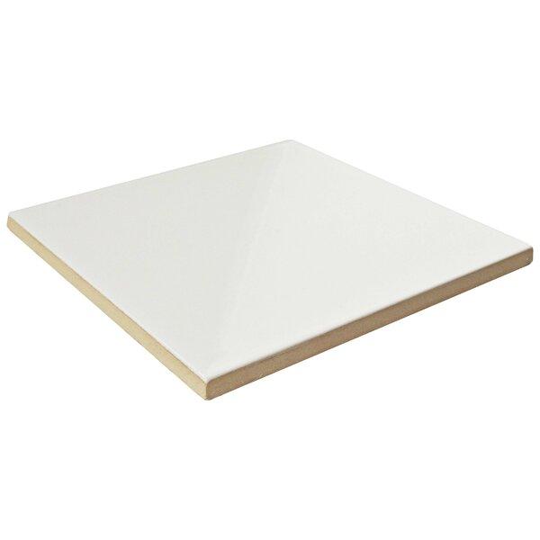 Magie Evolution 5.88 x 5.88 Ceramic Field Tile in White by EliteTile